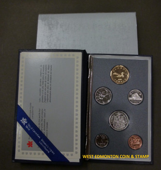 1989 6-COIN SPECIMEN SET
