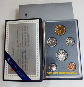 1990 6-COIN SPECIMEN SET