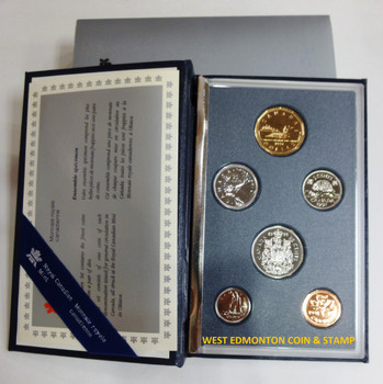 1991 6-COIN SPECIMEN SET - SCARCE QUARTER