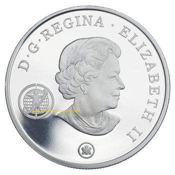 2007 $20 STERLING SILVER COIN - INTERNATIONAL POLAR YEAR