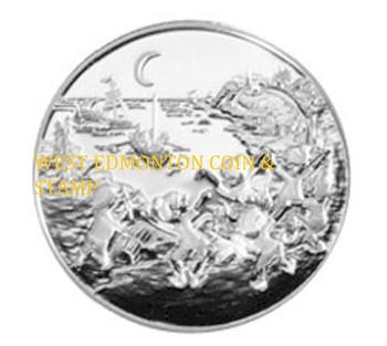 2001 - 50 CENT STERLING SILVER COIN - FOLKLORE LEGENDS - LES PETITS SAUTEUX