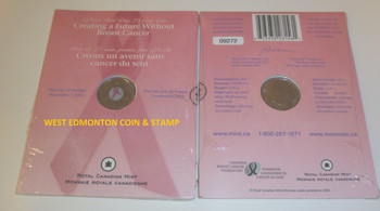 2006 FIRST DAY STRIKE - PINK RIBBON 25-CENT