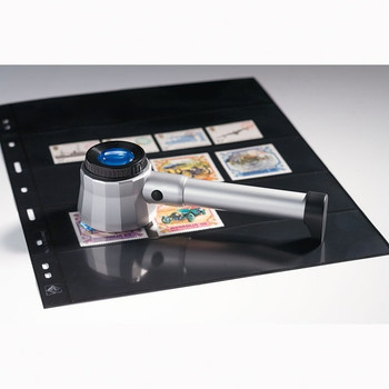 OVERLAY MAGNIFIER 8X MAGNIFICATION, INCL.3 LED