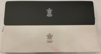 1988 CALGARY OLYMPIC GAMES STERLING SILVER 10 COIN SET