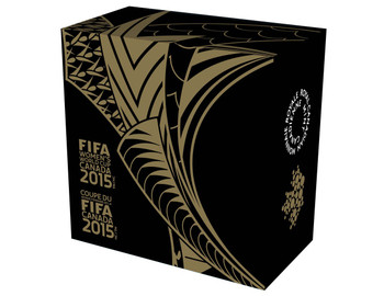 2015 $75 PURE GOLD COIN FIFA WOMEN'S WORLD CUP™ -  THE TROPHY