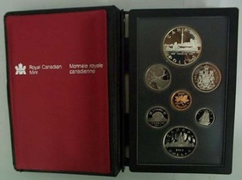 1984 PROOF DOUBLE DOLLAR SET