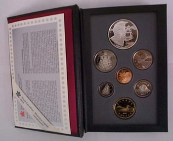 1995 PROOF DOUBLE DOLLAR SET - 50TH ANN. UNITED NATIONS