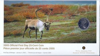 2005 25-CENT FIRST DAY COVER
