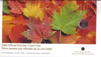 2005 1-CENT FIRST DAY COVER