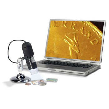 USB DIGITAL MICROSCOPE, 20X - 200X MAGNIFICATION, 2.0 MEGAPIXEL