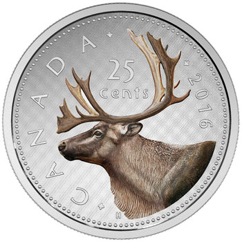 2016 25-CENT FINE SILVER COIN BIG COIN SERIES (COLOURED) – 25-CENT COIN