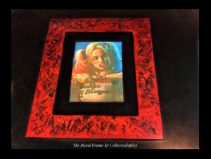 """11 x 17 Frame in """"Blood Attack"""" Finish"""