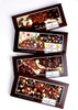 4 Giant Chocolate bars with toppings 150g  [#17-60]