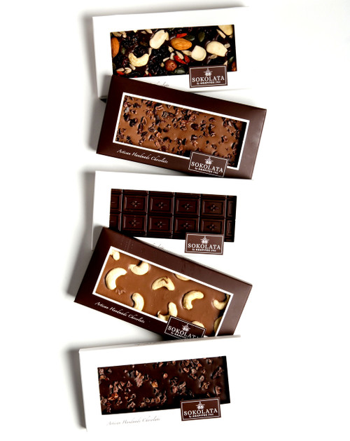5 No added sugar Chocolate bars 100g [#17-30]
