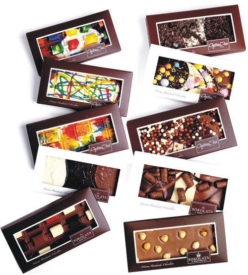10 Chocolate bars 100g OF YOUR CHOICE from the category  [#17-13]