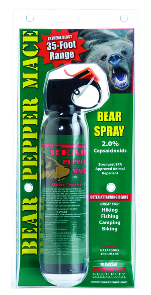Bear Pepper Mace (clamshell)