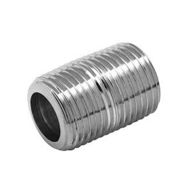 Threaded NPT Close Nipple Stainless Steel High Pressure Threaded Pipe Fittings