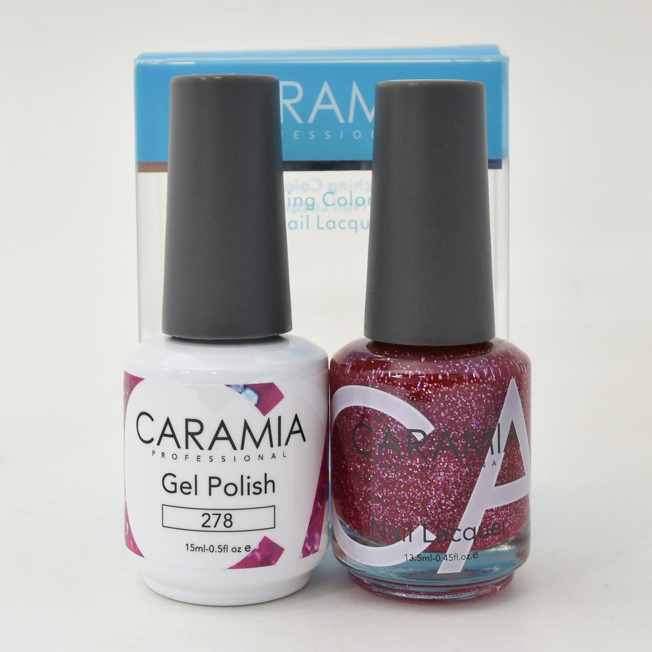 Caramia Gel Polish 15 mL & Nail Lacquer 13.5 mL Color 278 - Home ...