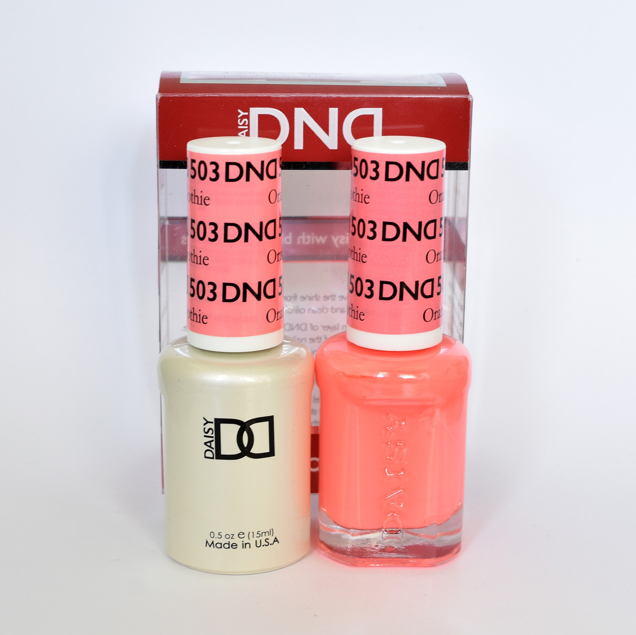 Daisy DND Duo GEL + MATCHING Nail Polish 503 - Home Nail Supply