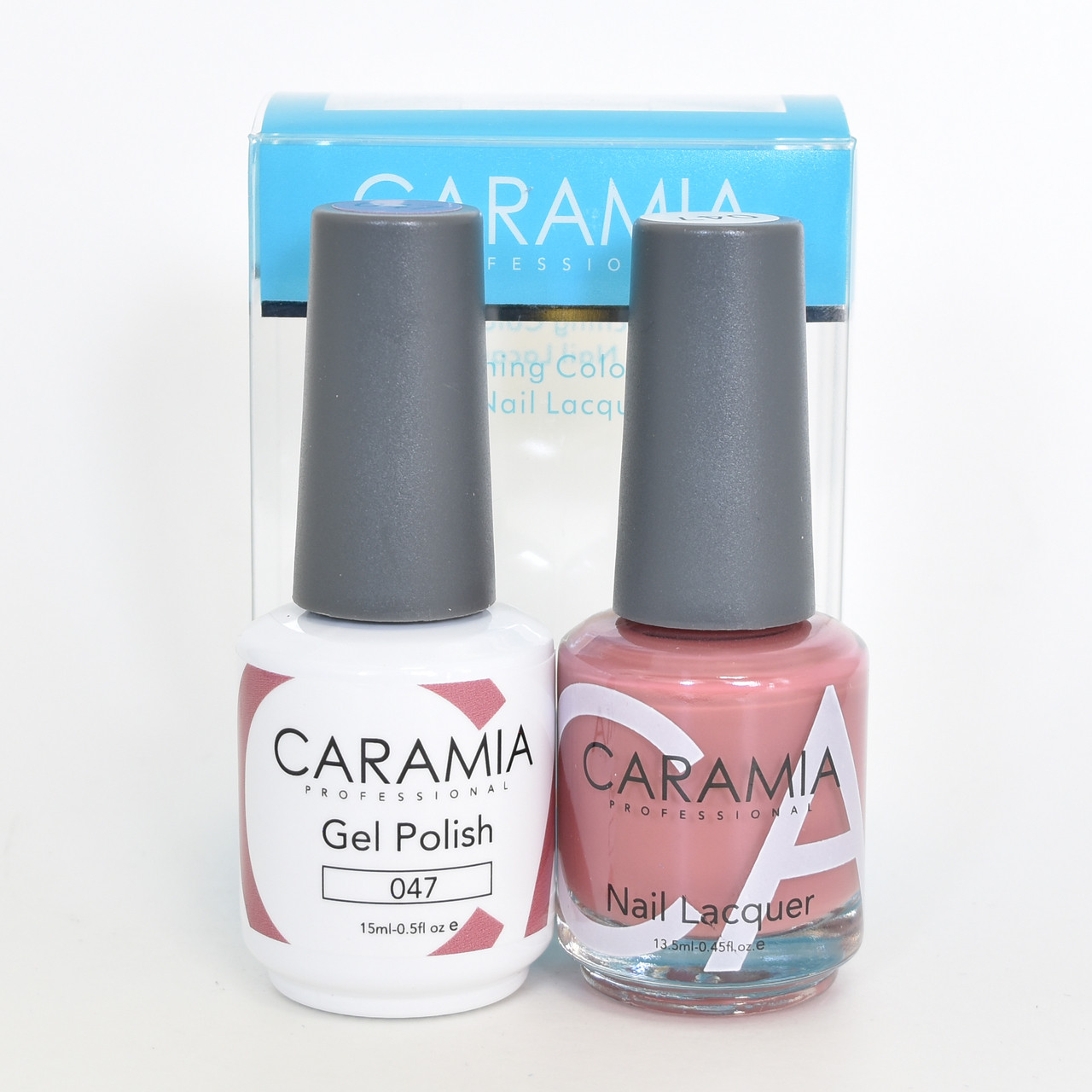 Caramia Gel Polish 15 mL & Nail Lacquer 13.5 mL Color 047 - Home ...