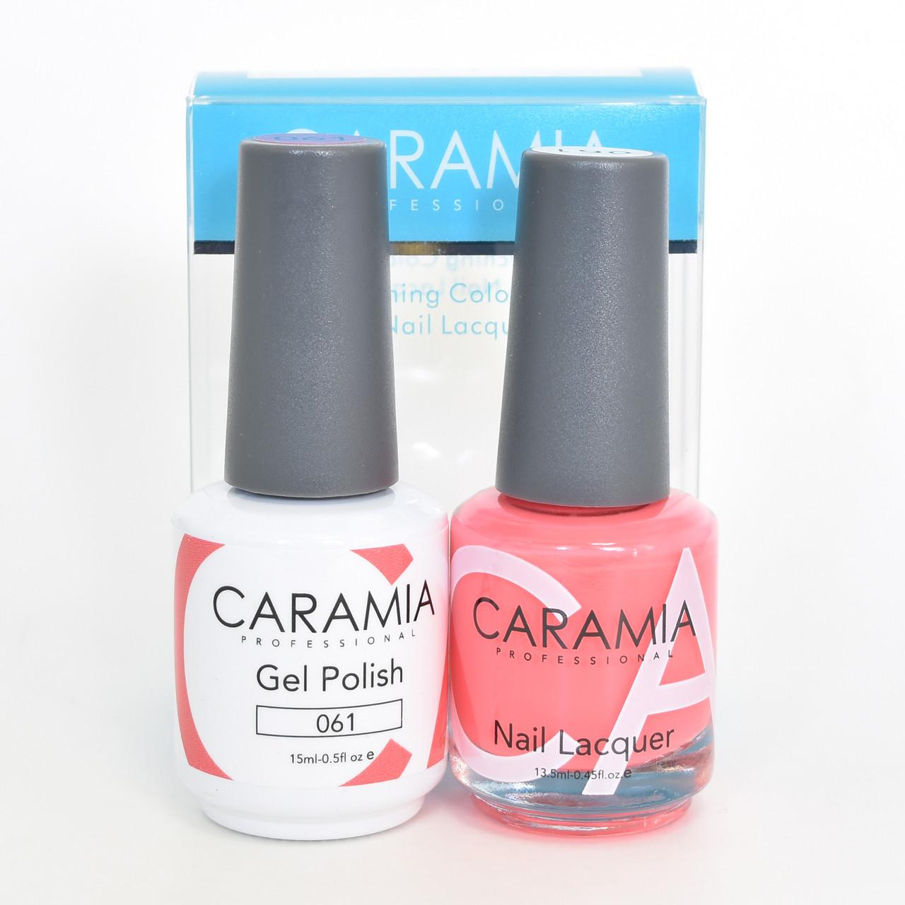 Caramia Gel Polish 15 mL & Nail Lacquer 13.5 mL Color 061 - Home ...
