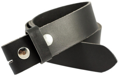 Full Grain Leather Belt Strap Black 1 Piece Black Belt