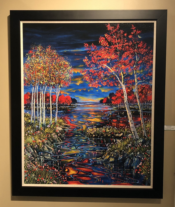 Ford Smith Canvas: Lifelong Commitment, Ford Smith Canvas Giclee Framed