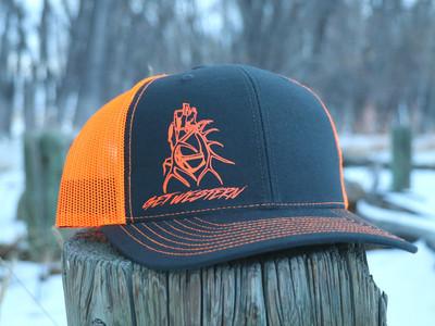 Get Western Neon Orange & Grey Tagged Out Wapiti