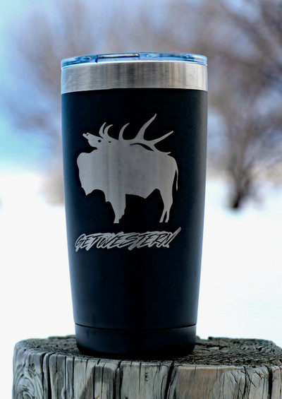 Get Western Pack Buff Insulated Cup - 20 oz.