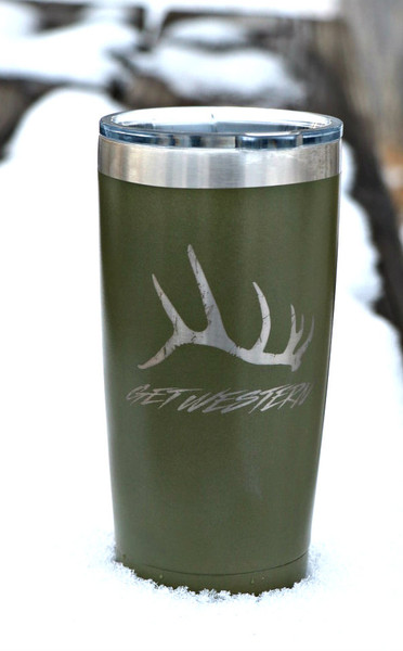 Get Western Elk Shed Insulated Cup - 20 oz.