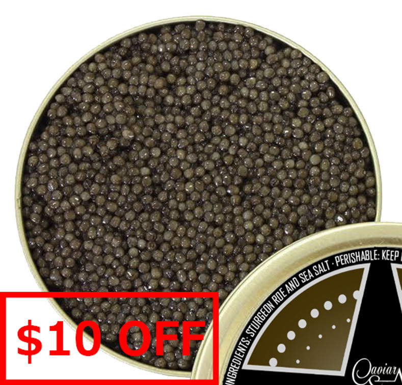 Black River Osetra Caviar - $10 off per ounce for Father's Day!