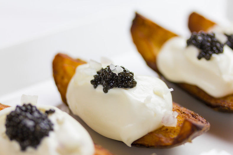 Siberian Caviar Potato Wedges