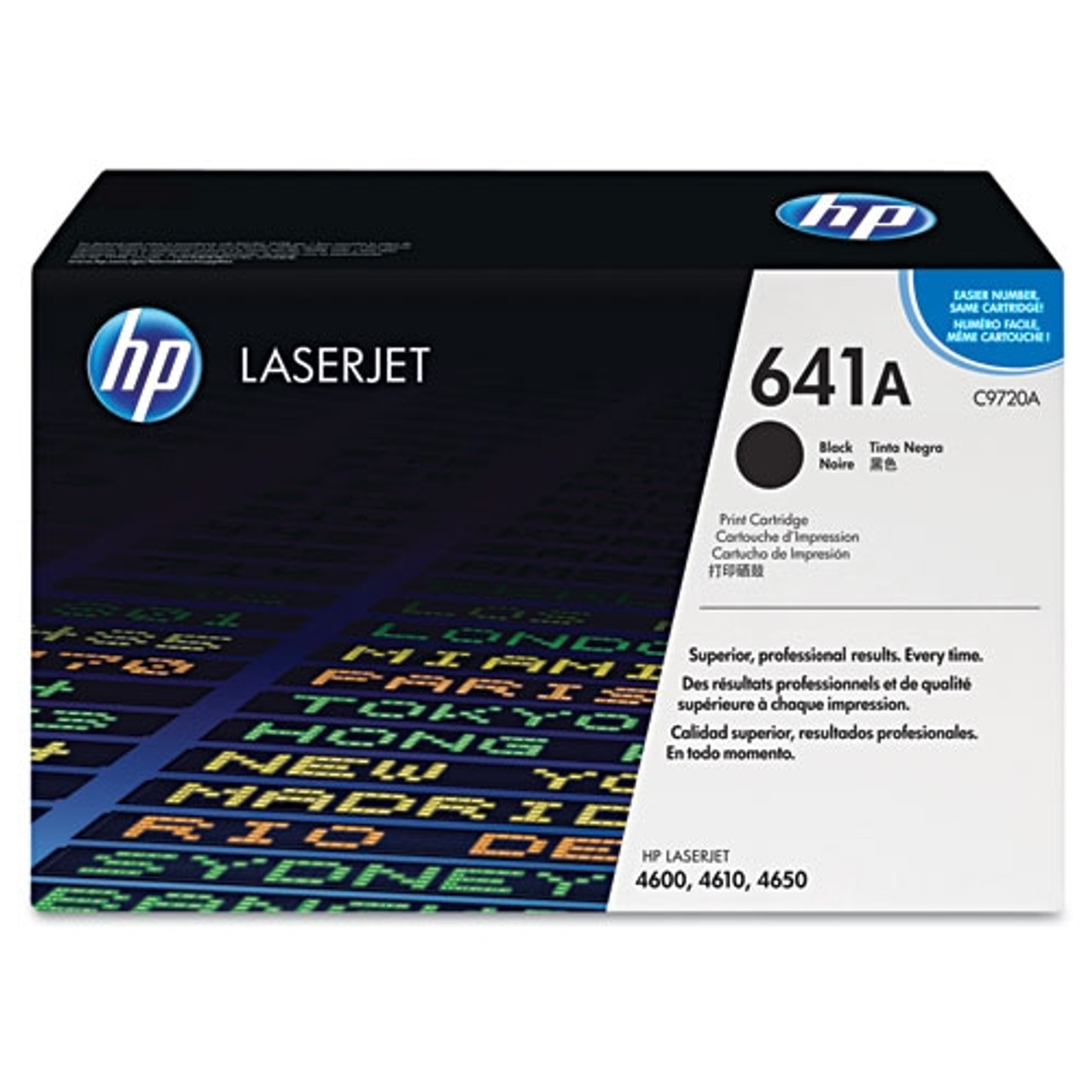 HP 4600 4650 Black Toner Cartridge - New