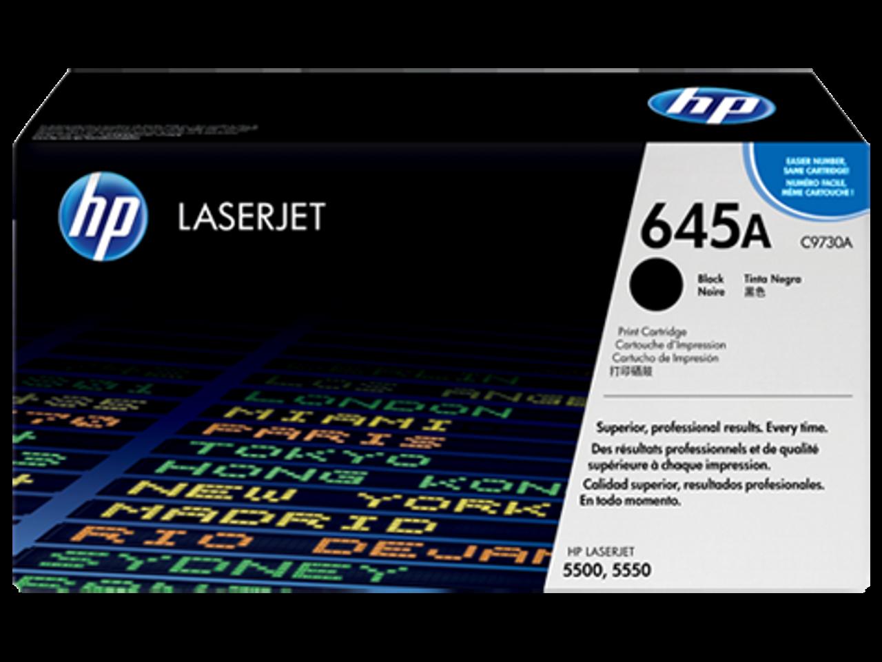 HP 5500 5550 Black Toner Cartridge - New