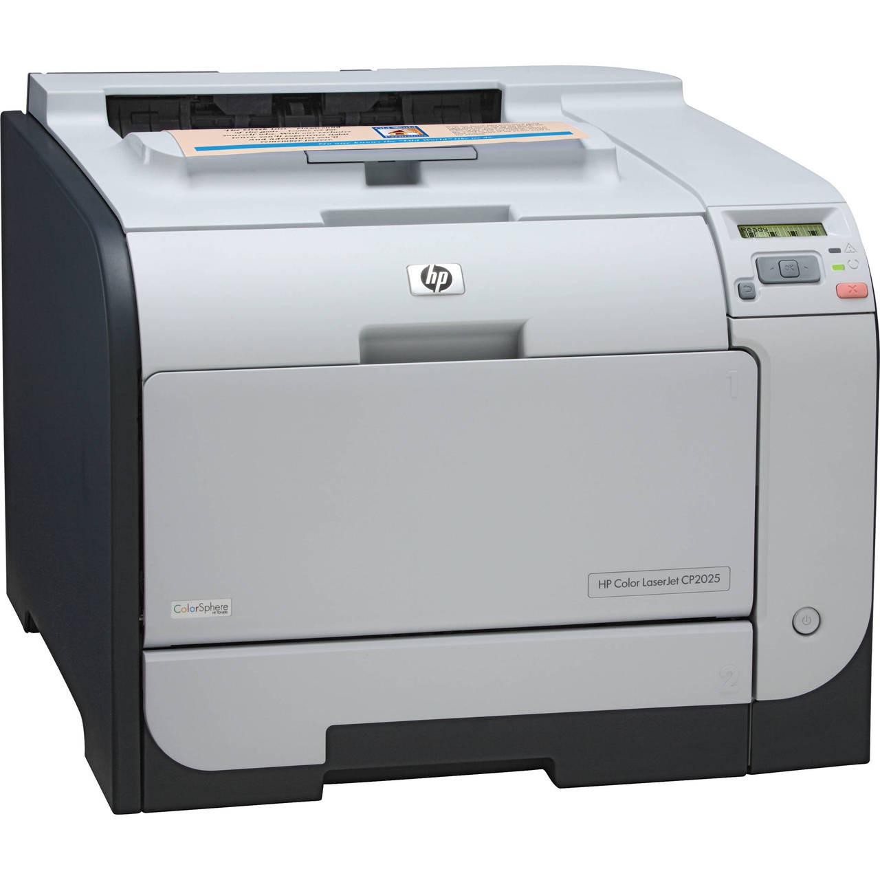 HP Color LaserJet CP2025dn Printer - CB495A - HP Laser Printer for sale
