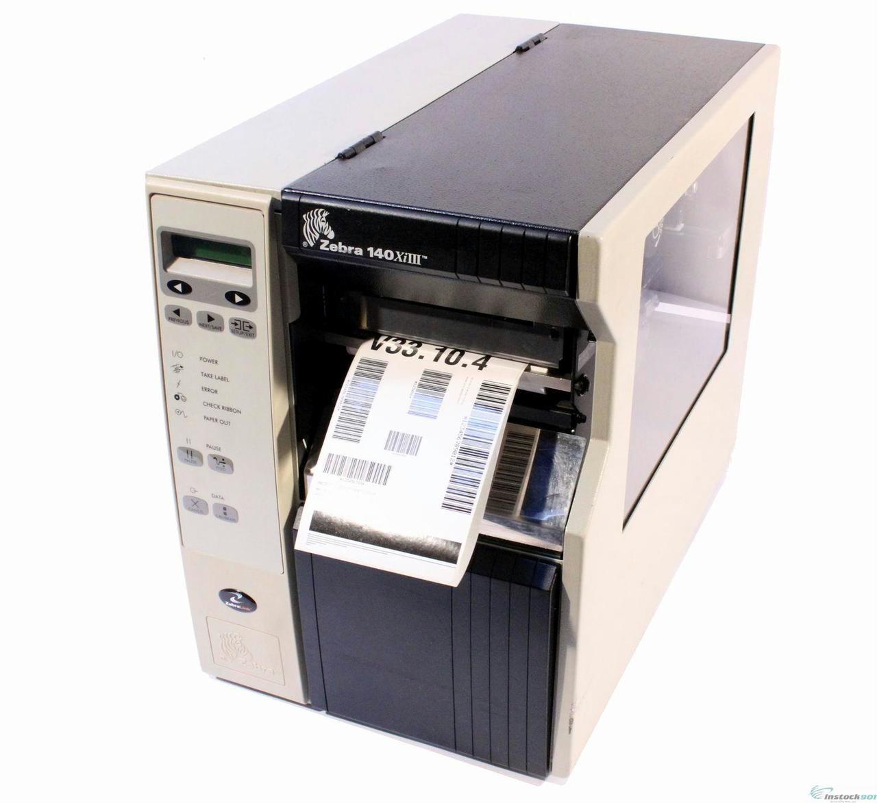 Zebra Xi Series 140XiIII - Label Printer - B/W - Direct Thermal