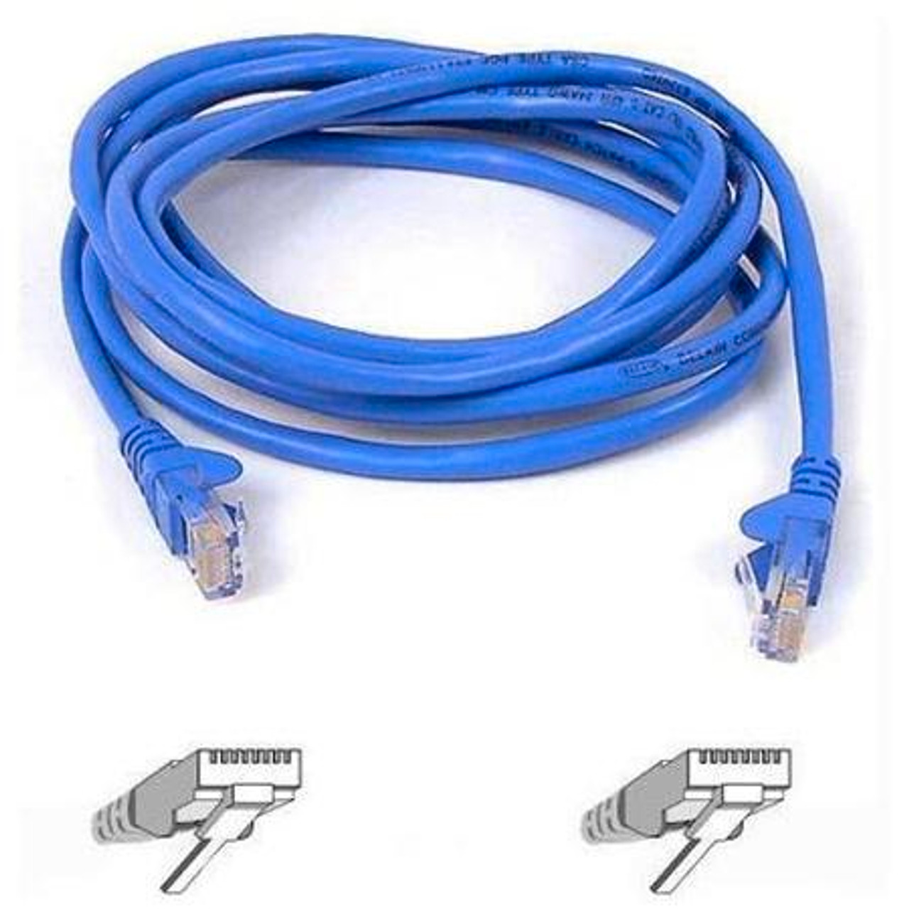 Belkin Patch CAT 5e  RJ-45 Cable Blue Patch Cable 15ft