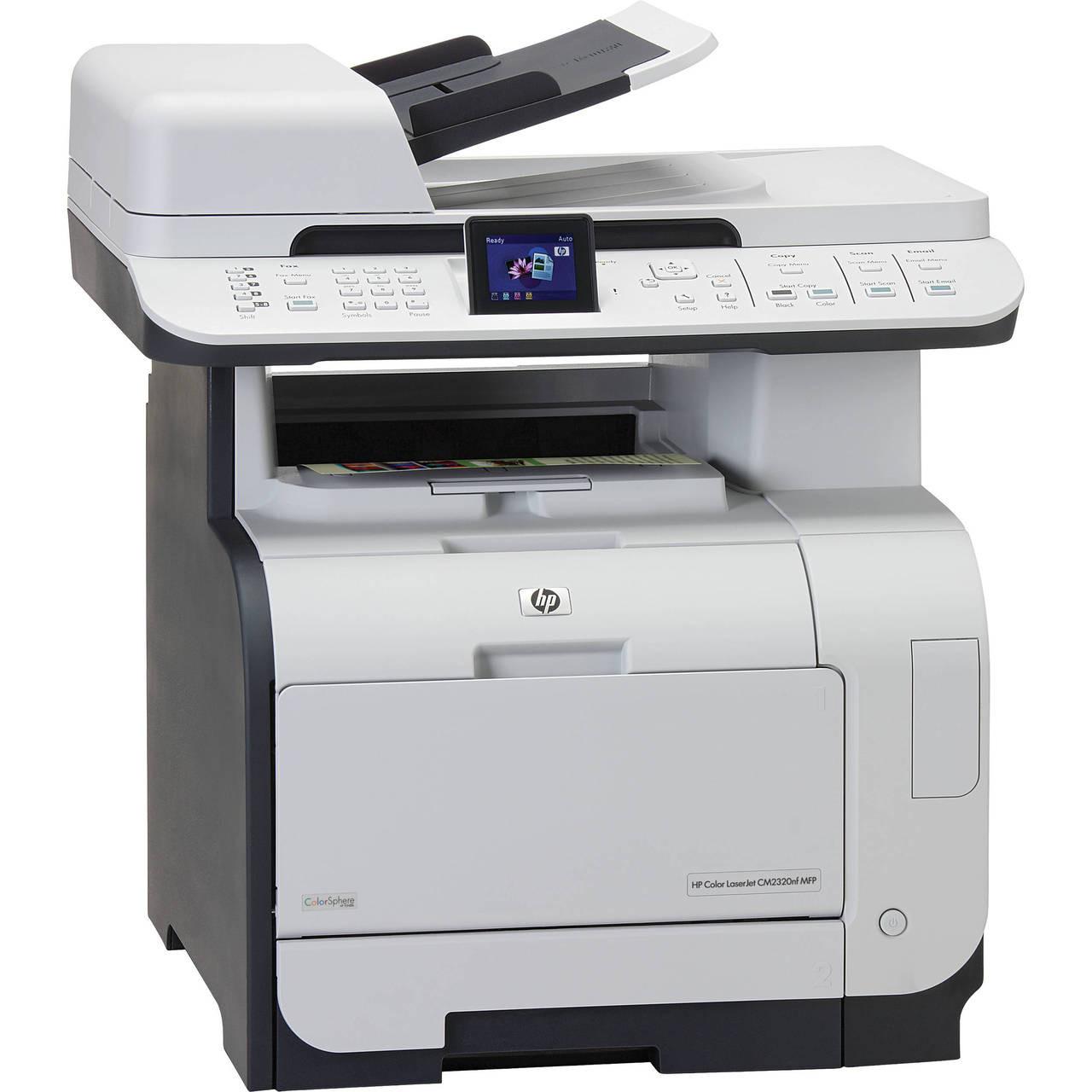 HP Color LaserJet CM2320nf MFP - CC436A - HP Laser Printer for sale
