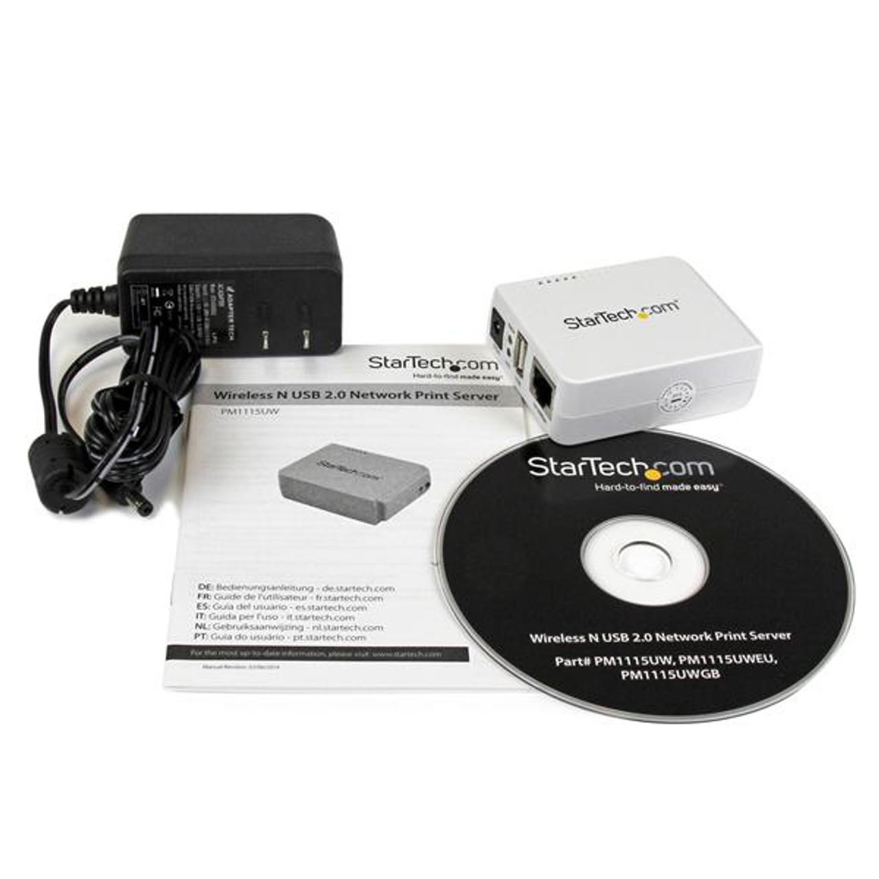 StarTech External wireless print server