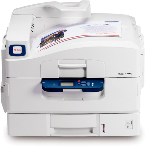 Xerox Phaser 7400DN Color LED printer - 40 ppm - 800 sheets