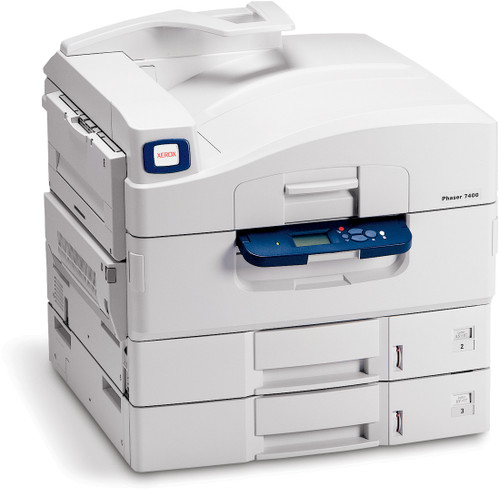 Xerox Phaser 7400DT Color LED printer - 40 ppm - 1350 sheets