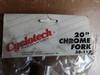 """NOS Cyclotech 20"""" Chrome BMX Fork"""