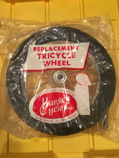 10 inch Hansen Replacement Tricycle Wheel