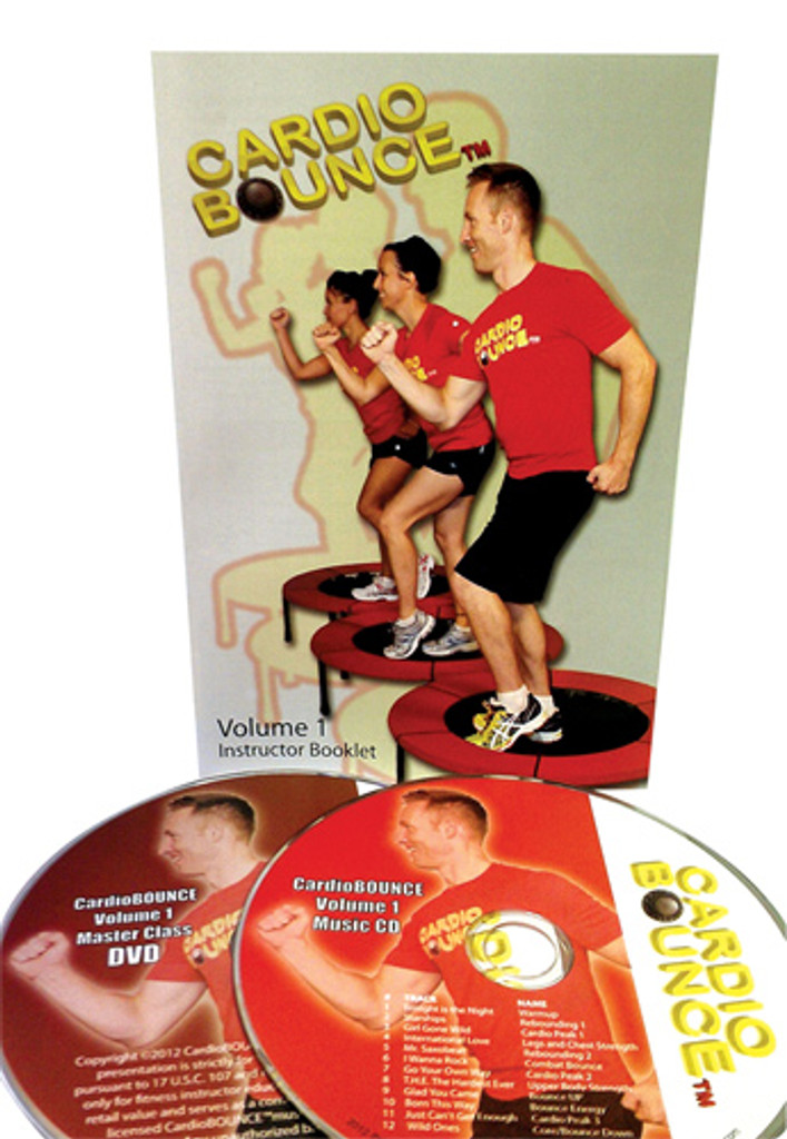 Cardio Bounce, Starter Kit [Choreo + Music] [Physical product]