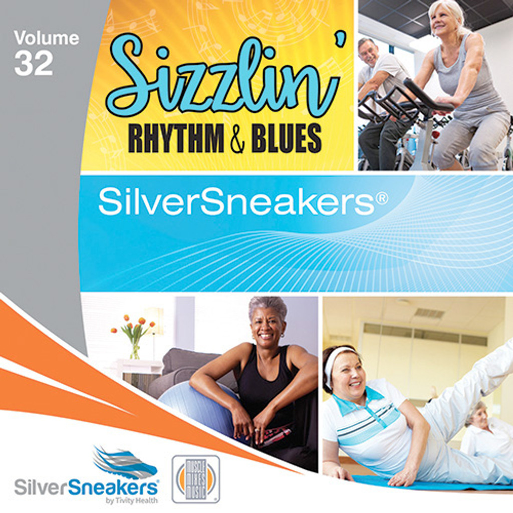 SIZZLIN' RHYTHM & BLUES,  SilverSneakers vol. 32