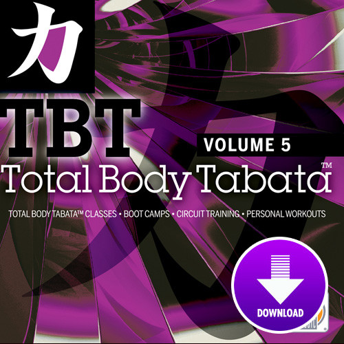 Total Body Tabata - Volume 5-Digital Download