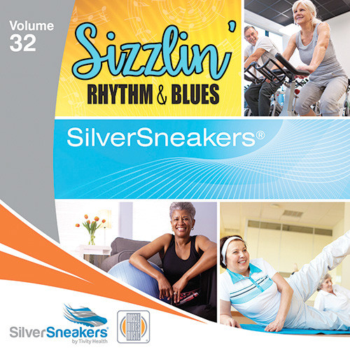 SIZZLIN' RHYTHM & BLUES,  SilverSneakers vol. 32 - CD