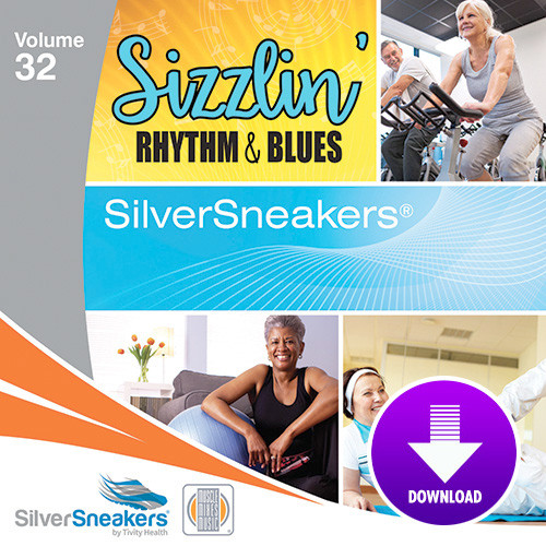 SIZZLIN' RHYTHM & BLUES,  SilverSneakers vol. 32 - Digital Download