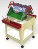 """Childbrite Youth Mobil Sand and Water Activity Center Easel - 24"""" Tall 2"""