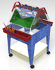 """Childbrite Youth Mobil Sand and Water Activity Center Easel - 24"""" Tall"""
